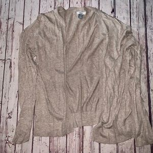 Tan Old Navy Cardigan Light Weight Size Large